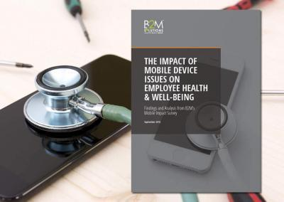 The Impact of Mobile Device Issues on Employee Health and Well-Being