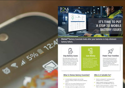Datasheet: Elemez Battery Essentials: It's Time to Put a Stop to Mobile Battery Issues