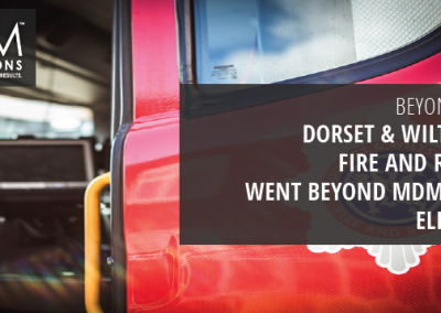 Dorset & Wiltshire Fire and Rescue Went Beyond MDM