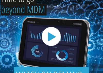 Panasonic UK Tough Talks: Time to Go Beyond MDM